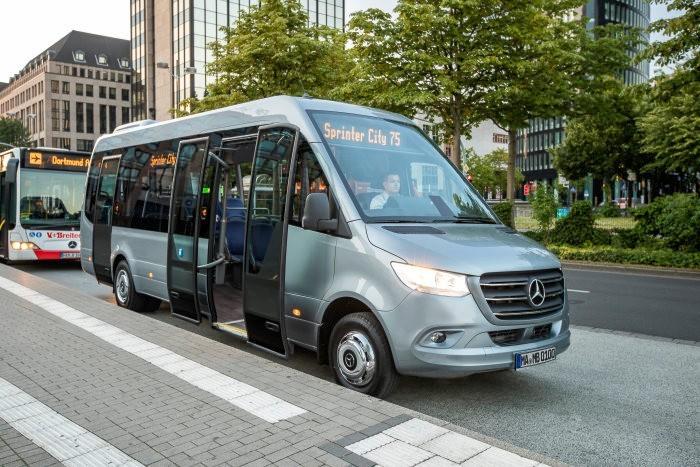 Mercedes-Benz Minibusse: Aller guten Dinge sind drei