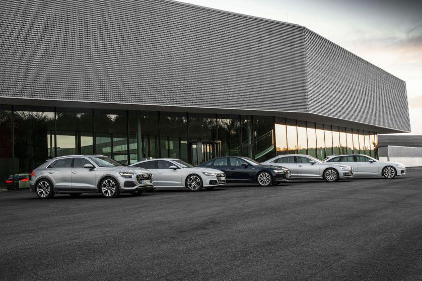 Die neue Oberklasse von Audi – mit der Markteinführung des Q8 jetzt komplett