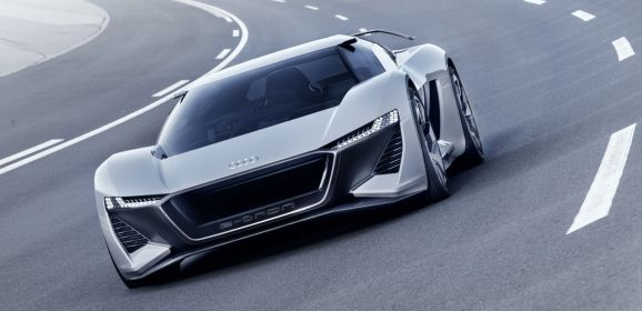 Weltpremiere in Pebble Beach – Die Studie Audi PB18 e-tron