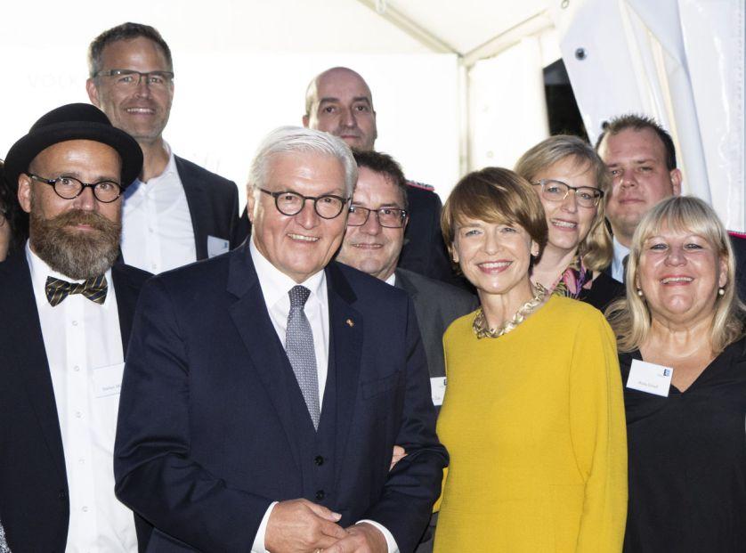 Ingolstädter Audianer zu Gast in Schloss Bellevue