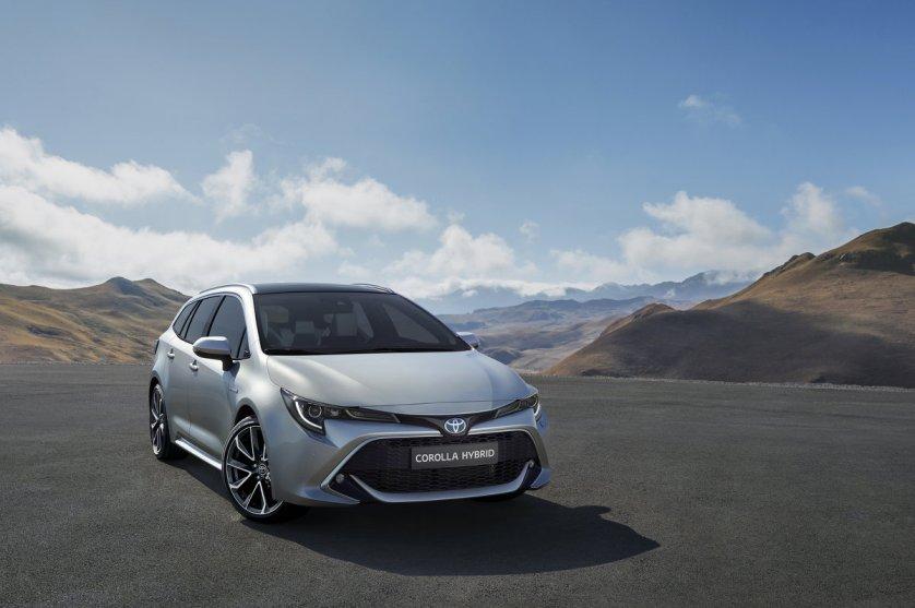 Weltpremiere für Toyota Corolla Touring Sports