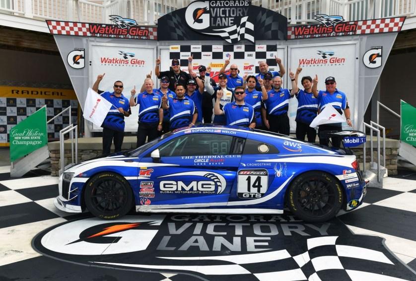 Zweiter Titel für Audi R8 LMS GT4