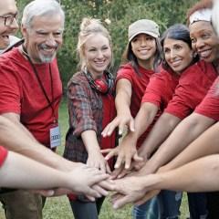 Großes Engagement beim Audi-Freiwilligentag