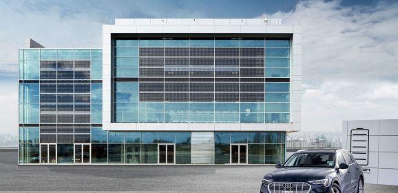Schaufenster der Nachhaltigkeit: Das Audi Brand Experience Center am Flughafen München