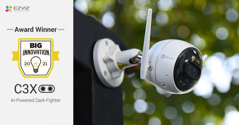 EZVIZ Wins 2021 BIG Innovation Awards