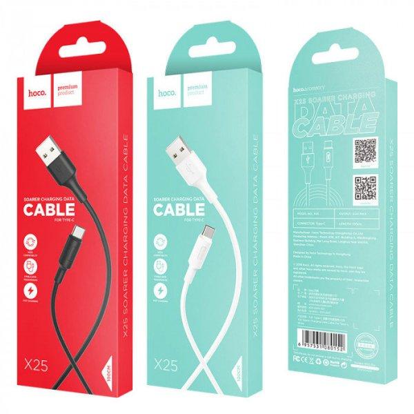 Кабель USB - Type-C HOCO X25 Soarer charging data