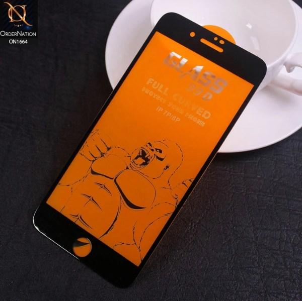 Стекло 99D iPhone 7 черное