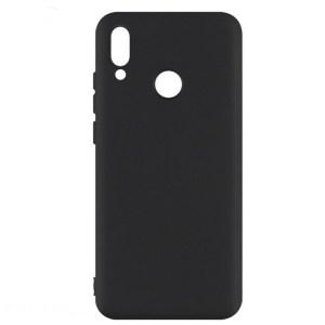 Черный силиконовый чехол для Galaxy A20 / A30