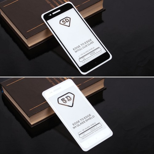 Защитное стекло 5D Xiaomi Mi A1
