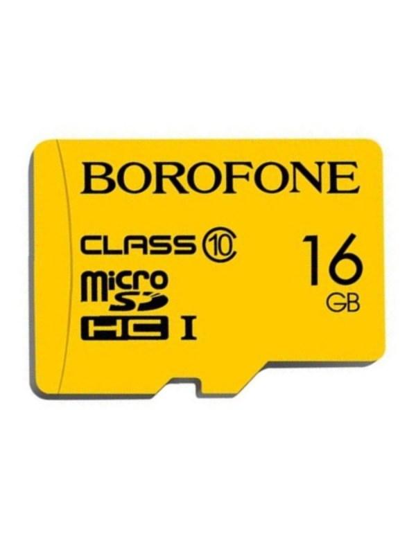 Карта памяти Borofone Micro-SD 16Gb Class 10