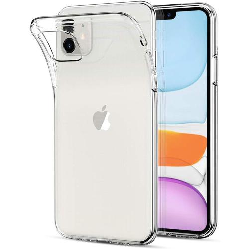 Чехол прозрачный силиконовый для iPhone 11