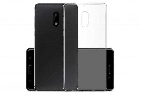 Чехол прозрачный силиконовый для Nokia 6