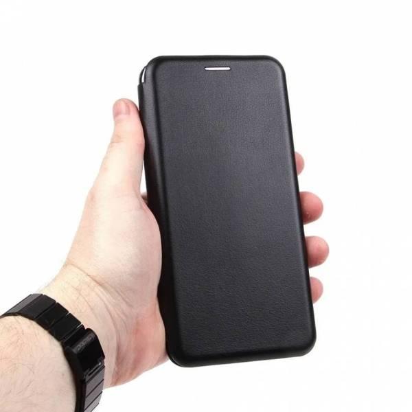 Чехол-книжка Fashion Case для Samsung Galaxy A12 черный