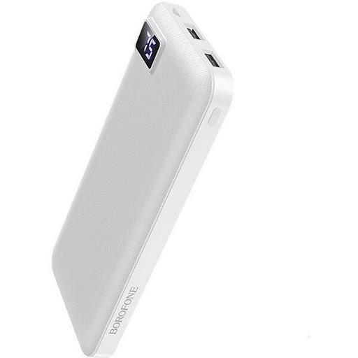 Портативный аккумулятор Borofone BT22 10000 mAh белый