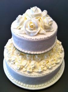 Torte-2Stock-Marzipanrosen-weiß