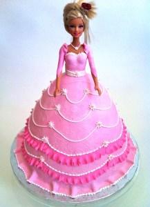 Torte-Barbie-rosa