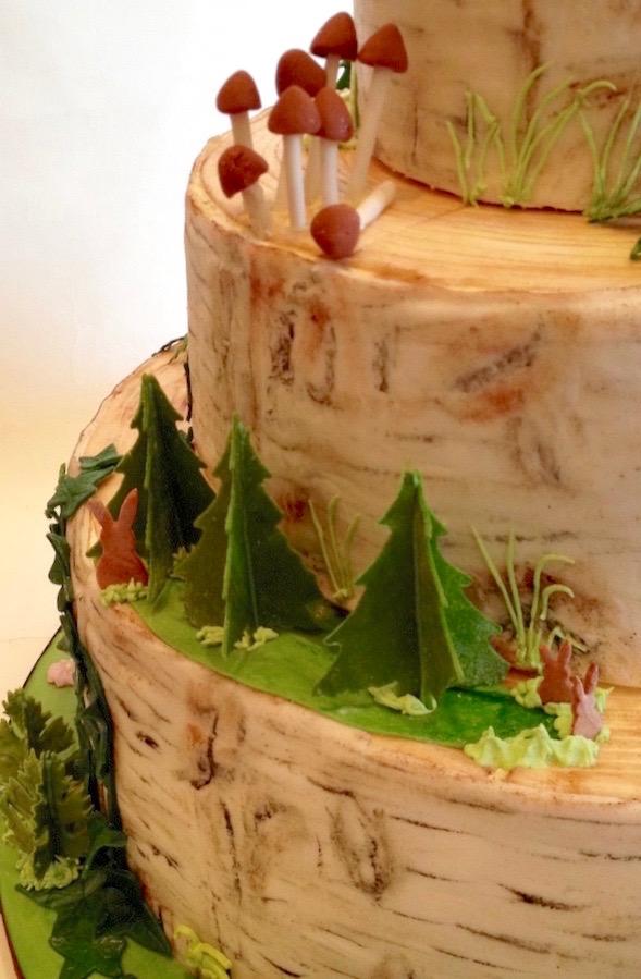 Baumstamm Torte Mobile Tortenwerkstatt