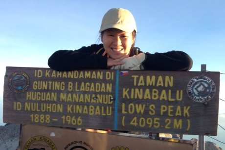 Australian woman Vee Jin Dumlao was stranded on Mount Kinabalu