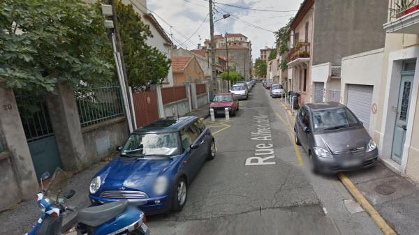 La rue Alfred de Musset, à Toulon (Var), où a éclaté une fusillade lundi 23 novembre.