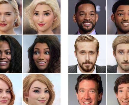 面白い!人間の顔写真をディズニー風に変換する無料のWEBサービス