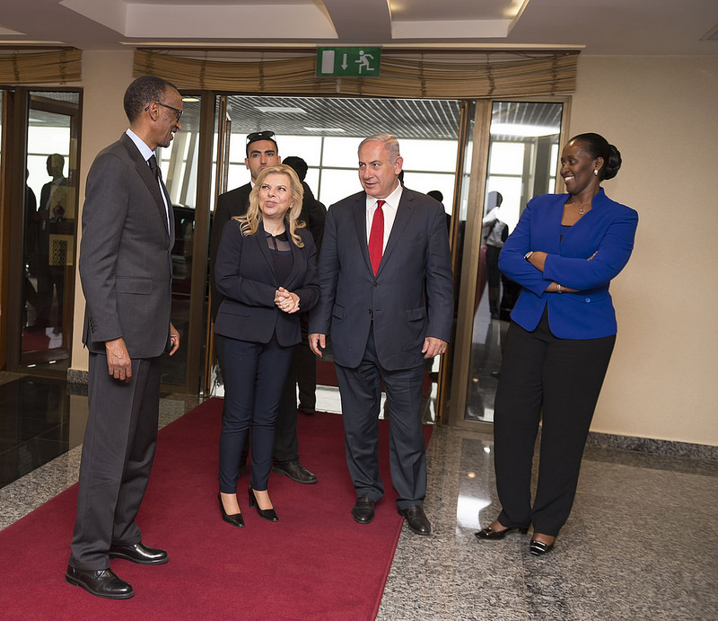 """Résultat de recherche d'images pour """"netanyahu et kagame"""""""