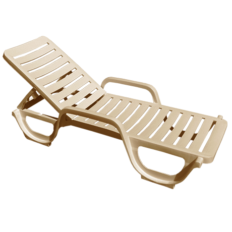 grosfillex plastic resin chaise lounge