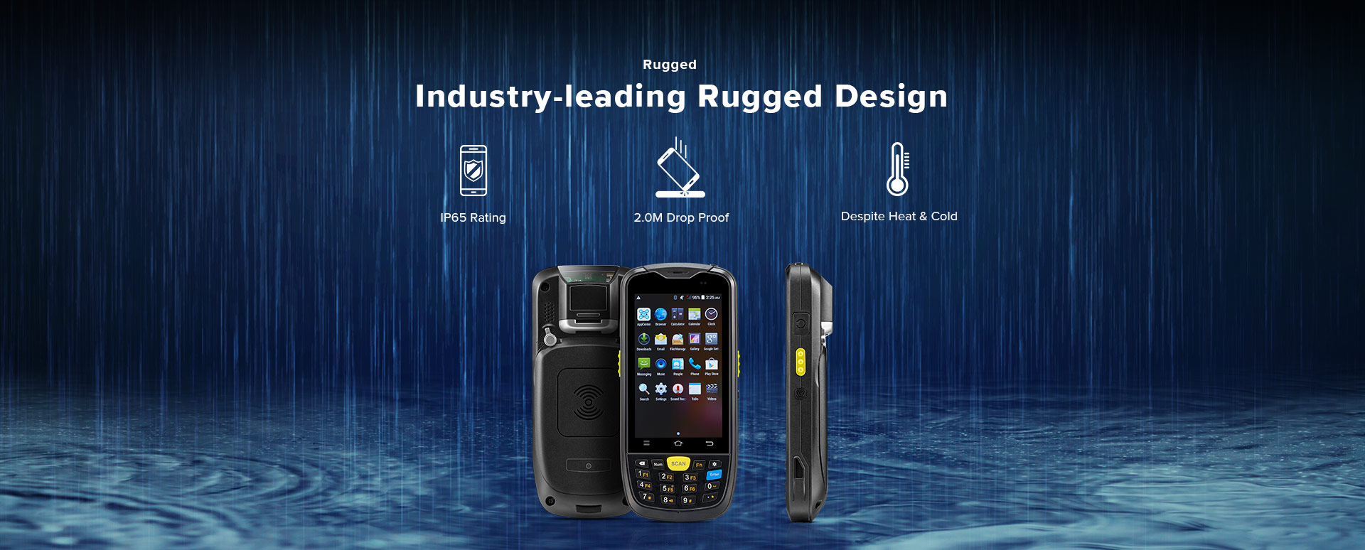 C6000 Rugged Handheld Computer Android - Industrial grade