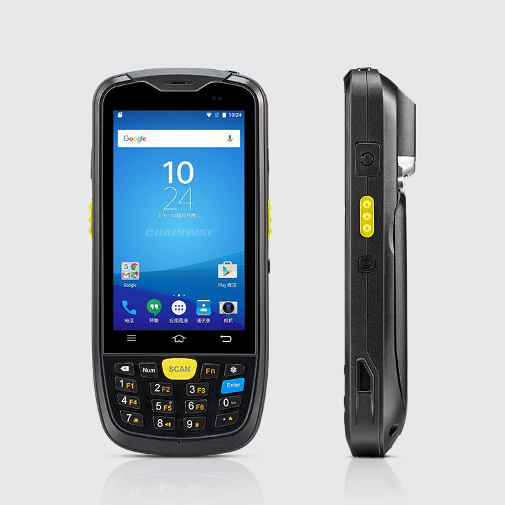 C6000 Rugged Handheld Computer Android - Keyboard & Scanner