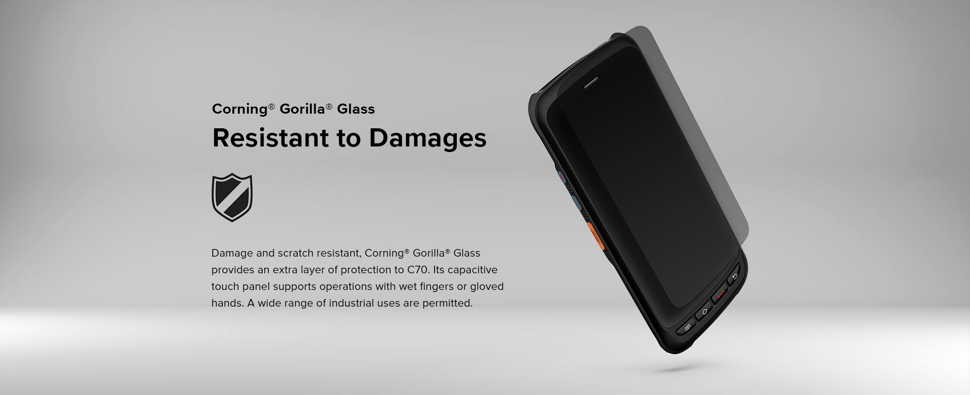 C70 - Android Rugged Mobile Phone - Feature