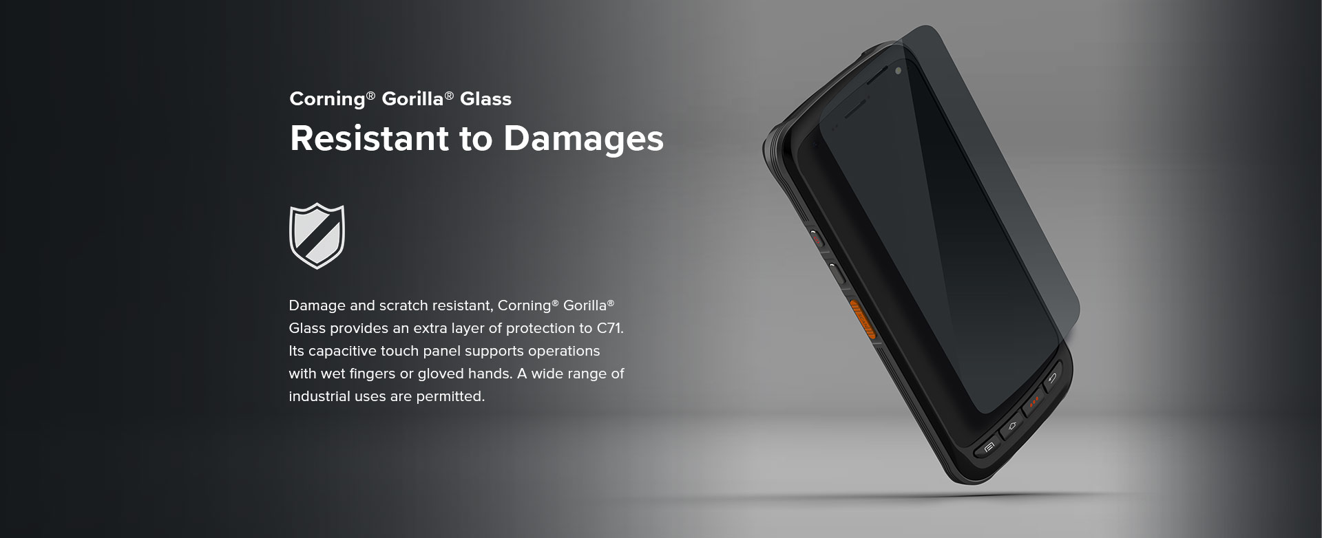 C71 - Android Industrial Mobile Computer - rugged