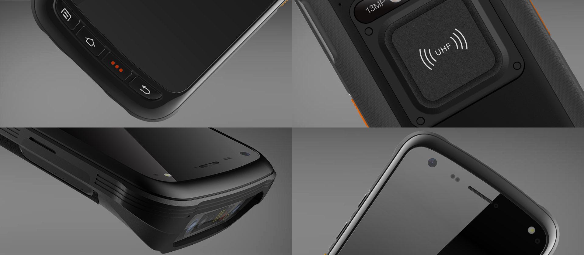 C71 - Android Industrial Mobile Computer RFID UHF - dettagli