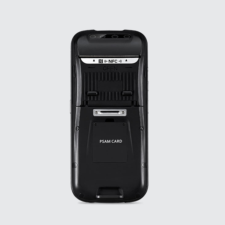 C75 - Android Rugged Mobile Computer with Printer - retro