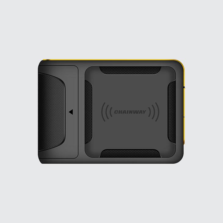 R5 - RFID UHF Wearable Reader - antenna polarizzazione circolare
