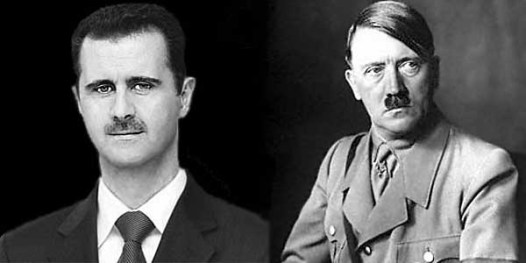 assad, hitler and godwin's law