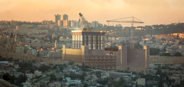 The future Third Temple ... as it might appear