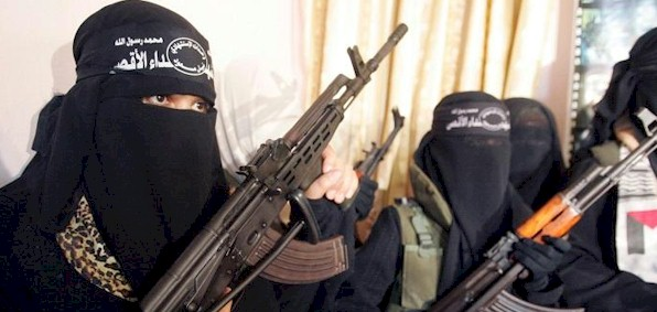 ISIS fighters like these, 4,000 of them, are already in place in Western nations, a jihadist smuggler confirmed.