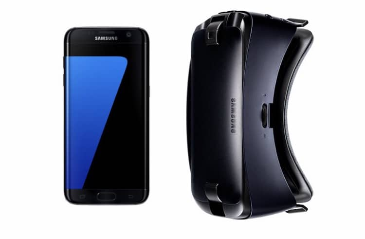 Free Gear VR when purchased with an Samsung S7 Edge
