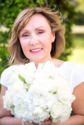 Bride looks beautiful on her wedding day