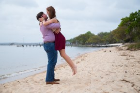 Engagement in Fairhope, Alabama
