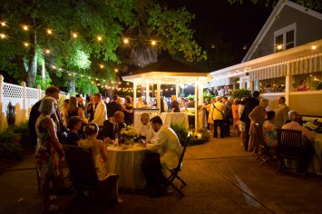 Wedding reception at the Fairhope Inn and Restaurant