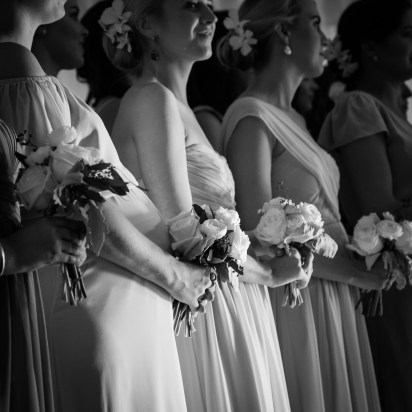 Bridesmaids at the Blackwater Farms Chapel