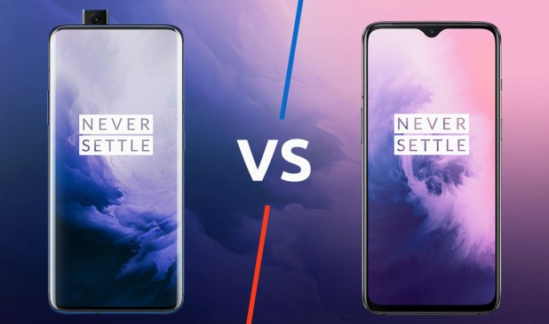 OnePlus 7 and OnePlus 7 Pro