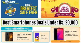 Best Smartphones Deals Under Rs. 20,000