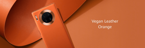 Mate 30 Pro leather orange
