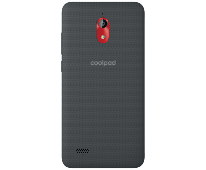 Coolpad Legacy Go, Black, Rear