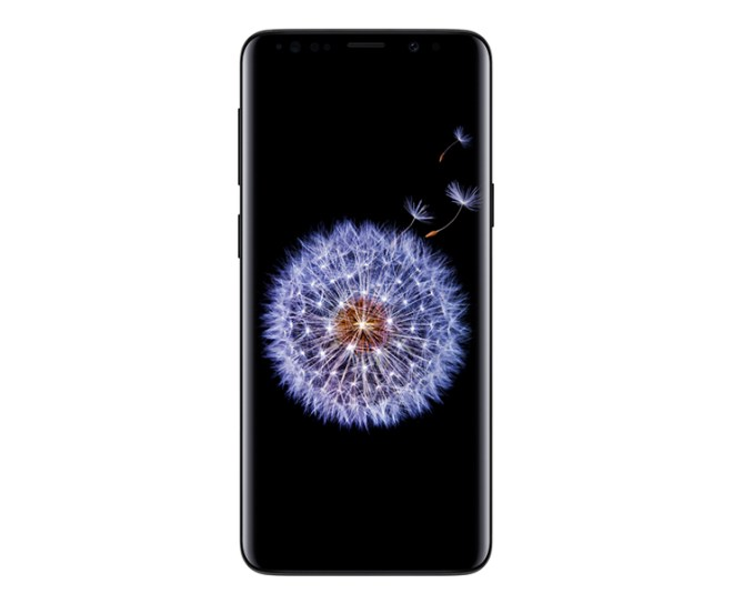 virgin mobile phones, Samsung Galaxy S9, Black, Front