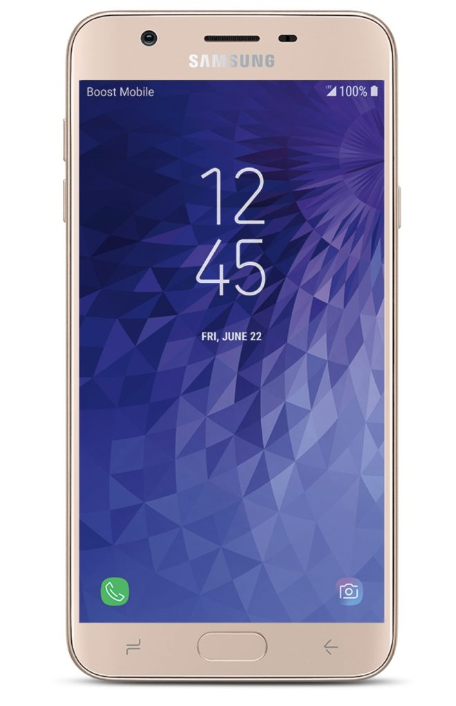 Virgin Mobile Phones, Samsung J7 Refine, Gold, Front