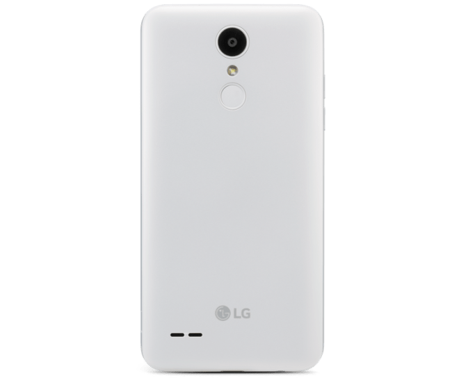 LG Tribute Empire, White, Back