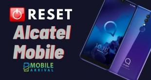 Reset Alcatel Mobile Phone