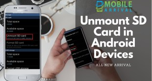 Unmount SD Card in Android Devices